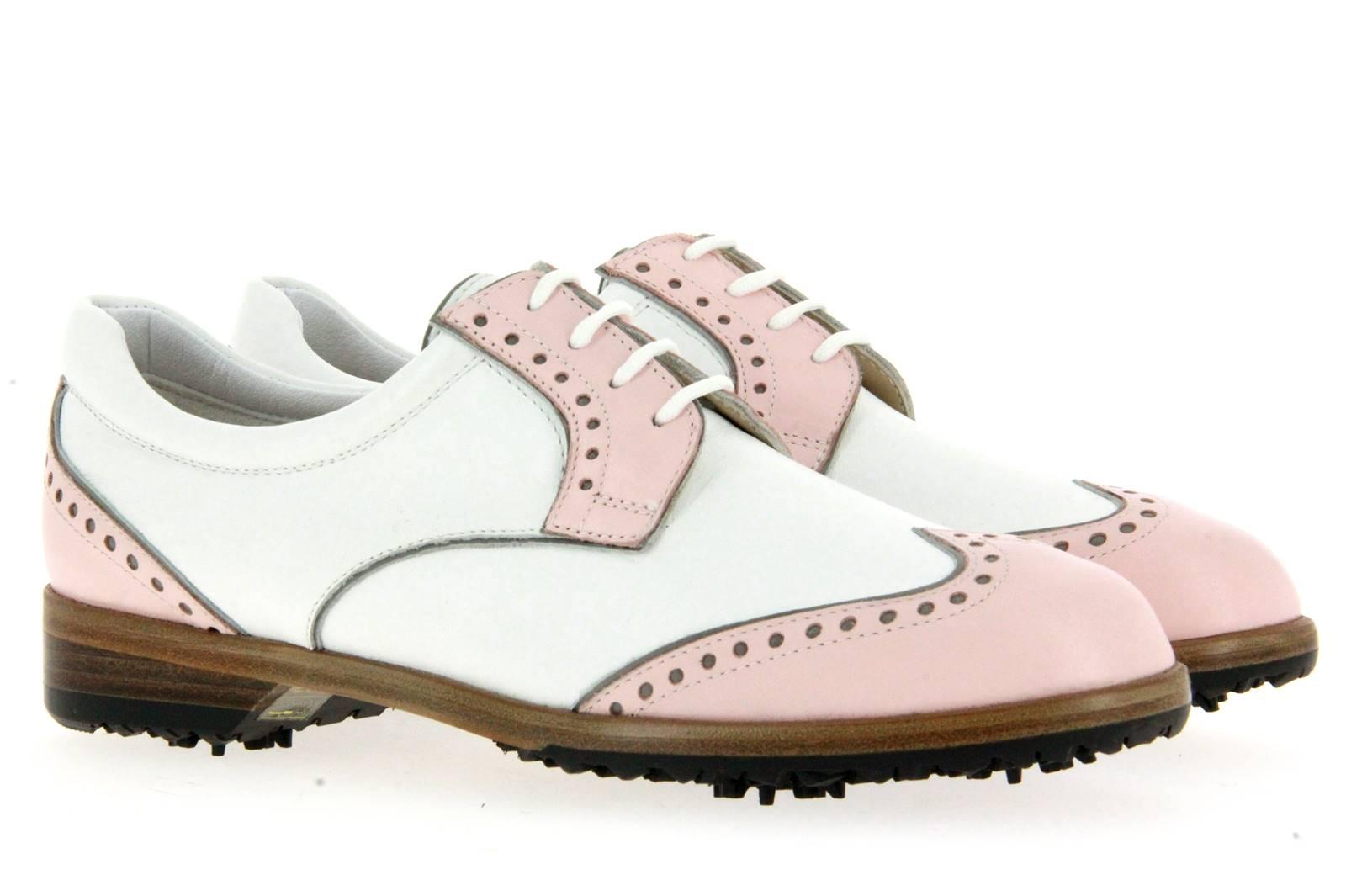 Tee Golf Shoes Damen- Golfschuh SALLY ROSA BIANCO (36½)
