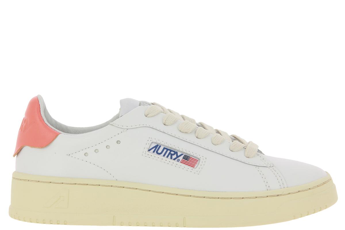 Autry Sneaker DALLAS LOW WOMAN WHITE CORAL