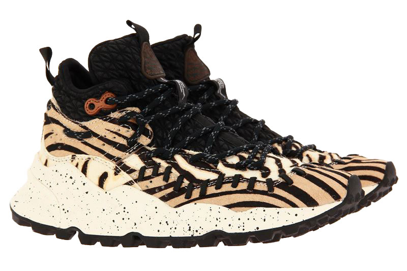 Flower Mountain Sneaker MOHICAN MAN CAVALINO TIGER PRINT (42)