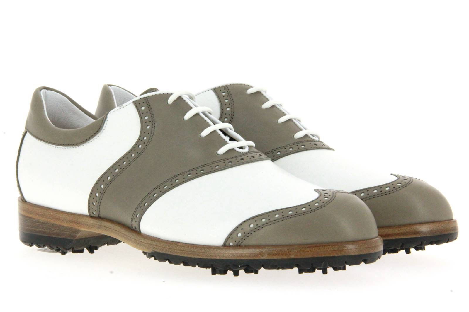 Tee Golf Shoes Damen- Golfschuh SUSY BIANCO TOPO (37½)