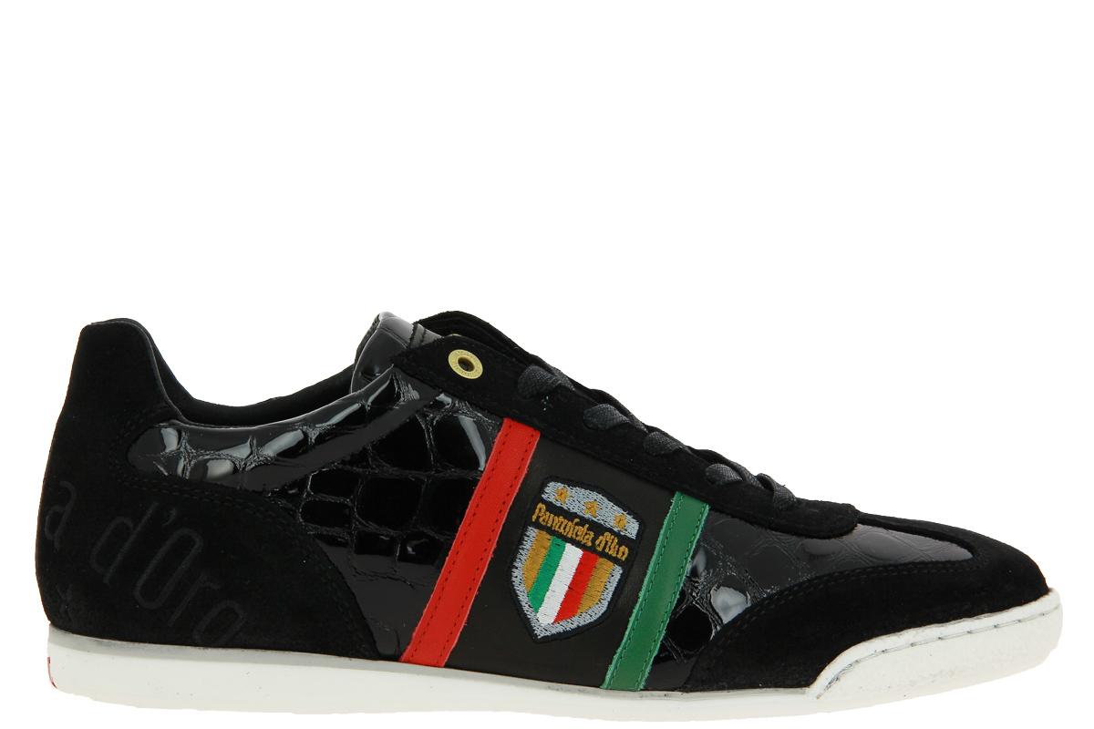 Pantofola d'Oro Sneaker FORTEZZO UOMO LOW BLACK
