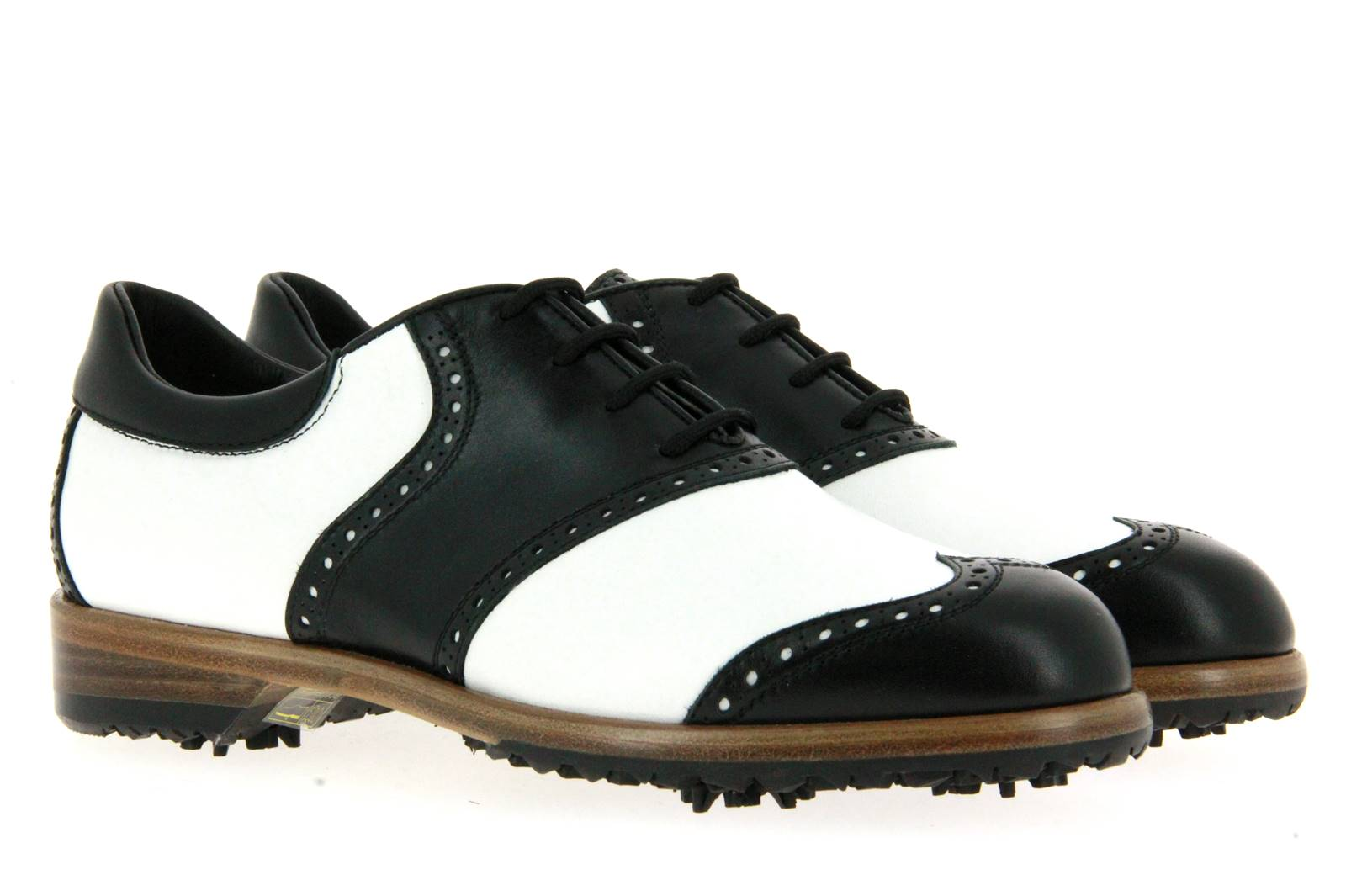 Tee Golf Shoes Damen- Golfschuh SUSY NERO BIANCO (41)