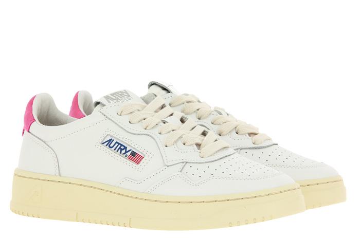 Autry Sneaker LOW WOMAN WHITE CAMELLIA
