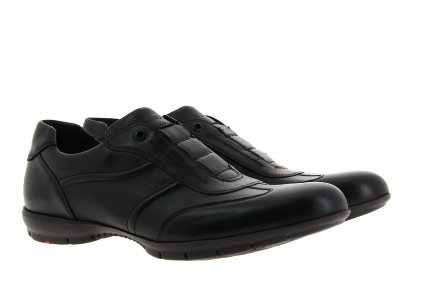 Lloyd Sneaker ARCHER SAN REMO CALF SCHWARZ (46)