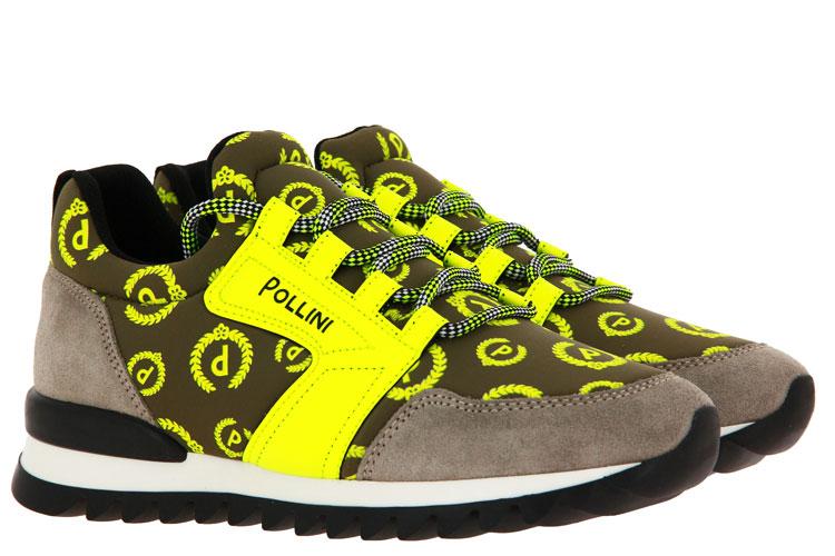 Pollini Sneaker RICCIONE NEON GIALLO (38)