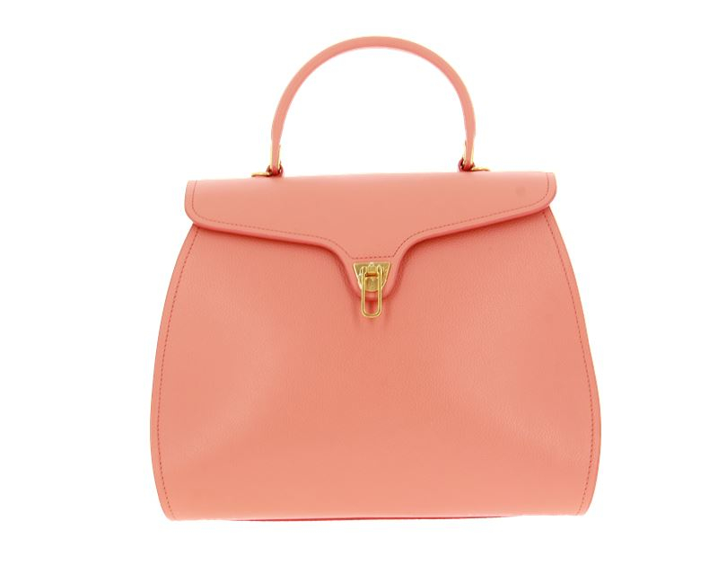 Coccinelle Handtasche MARVIN LEATHER PEACH