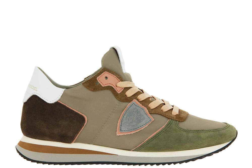 Philippe Model Sneaker TROPEZ LOW WOMAN MONDIAL BEIGE