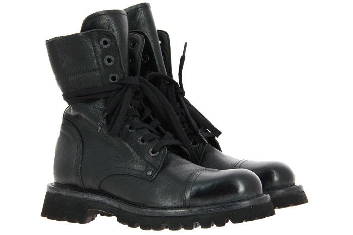 Moma Damen- Biker Boots POLACCO CUSNA NERO (38)