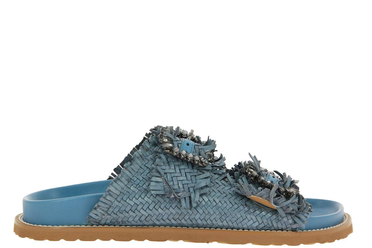 Coral Blue Pantolette BLU