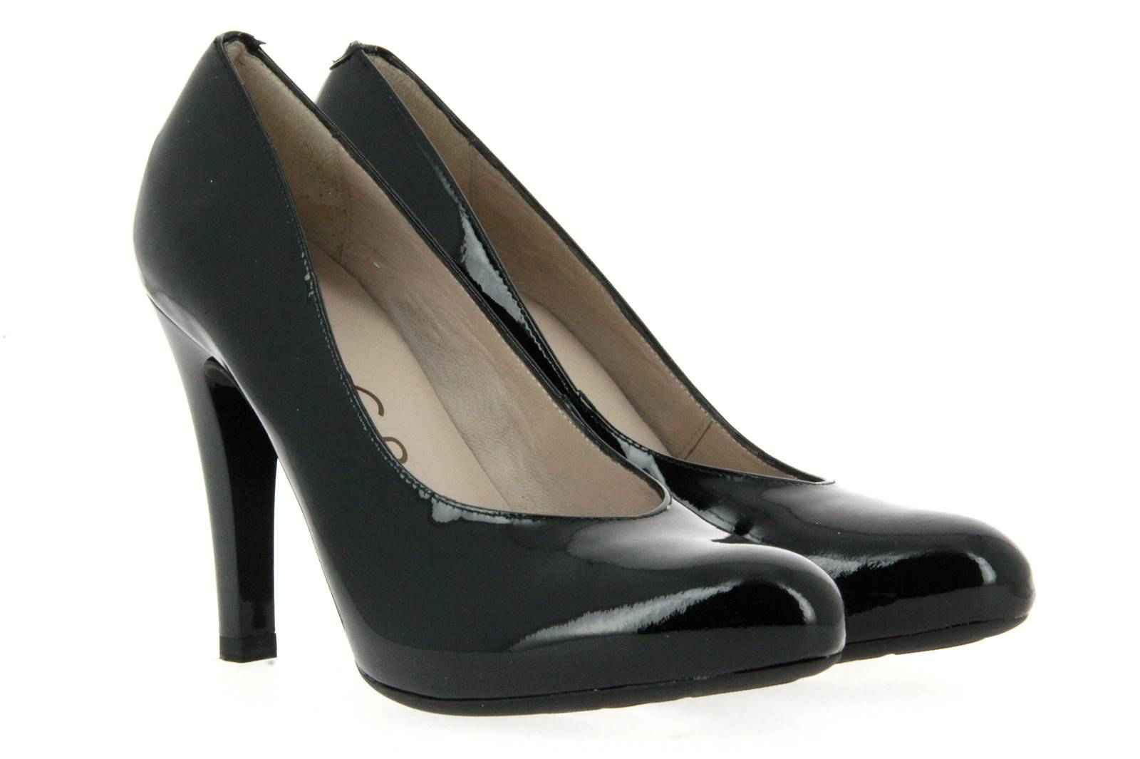 Unisa High Heel PICHI BLACK PATENT (37 )
