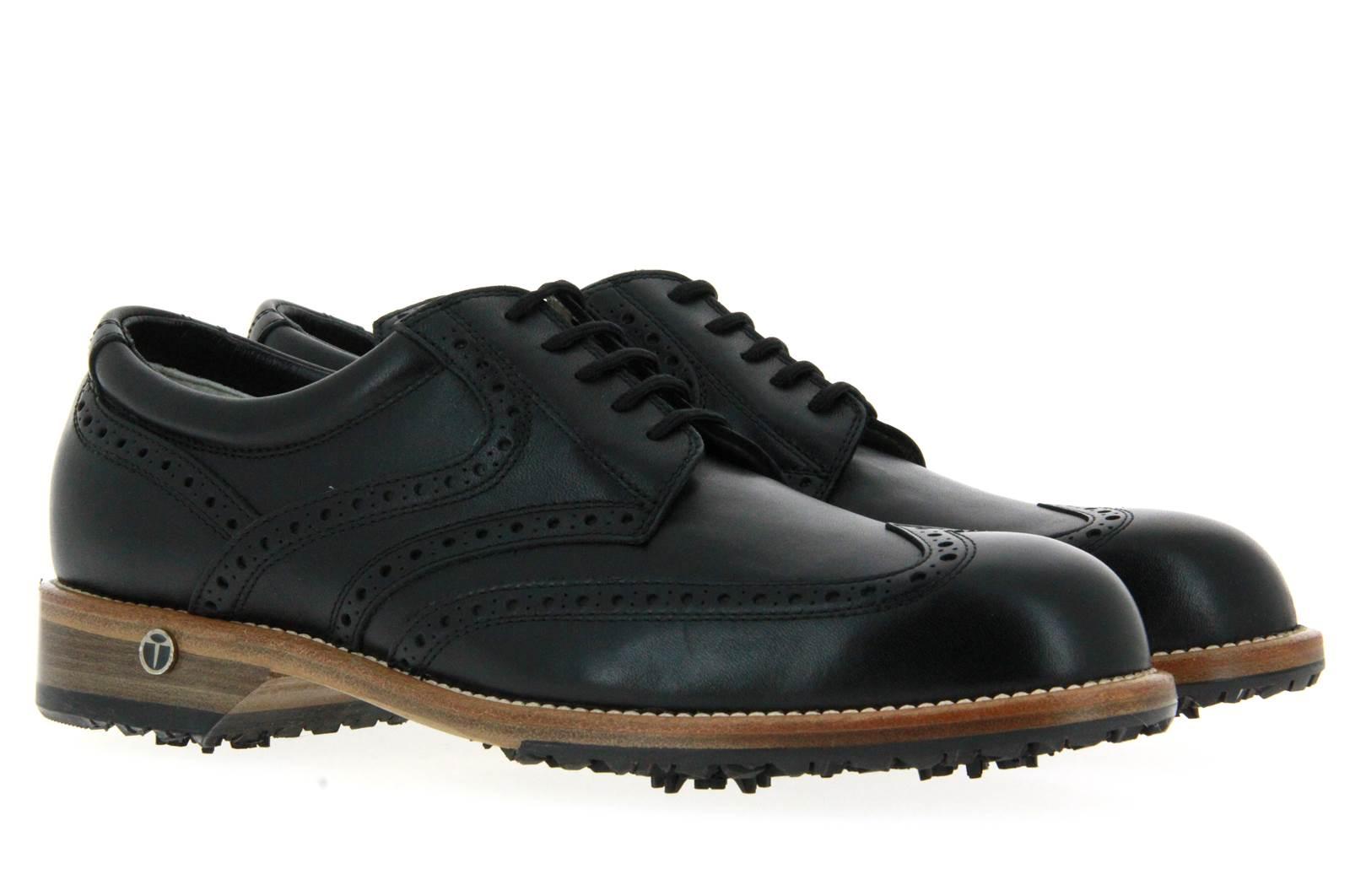 Tee Shoes Golfschuh TOMMY VITELLO IDRO NERO (42)