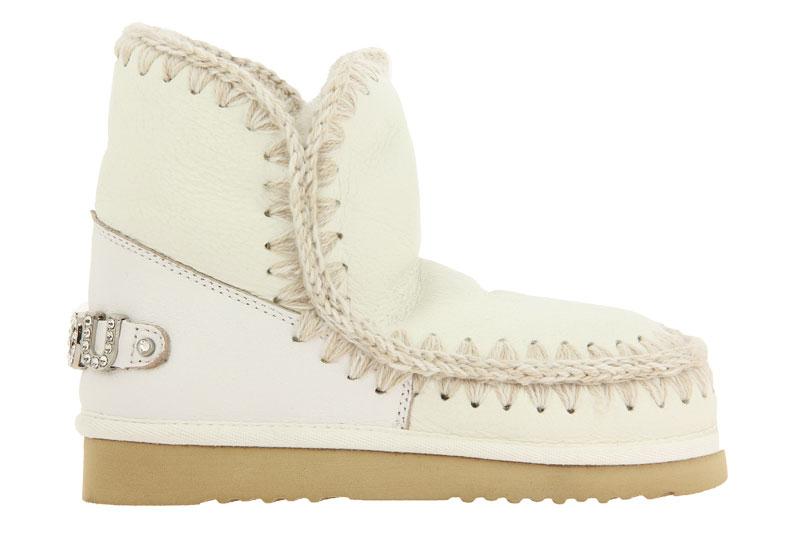 MOU Boots RUNNING ESKIMO 18 LOGO WAXI WHITE (38)