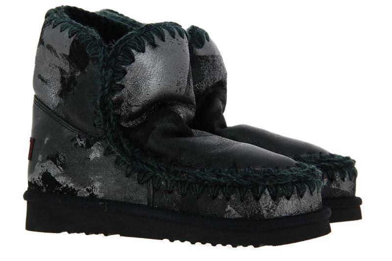 mou Boots ESKIMO 18 METAL PRINT ON BLACK (37 )