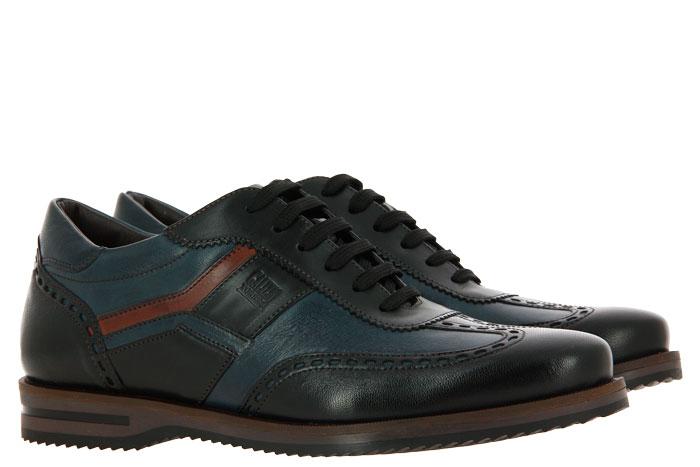 Galizio Torresi Sneaker VEGAS NERO BLU INDIO (42)