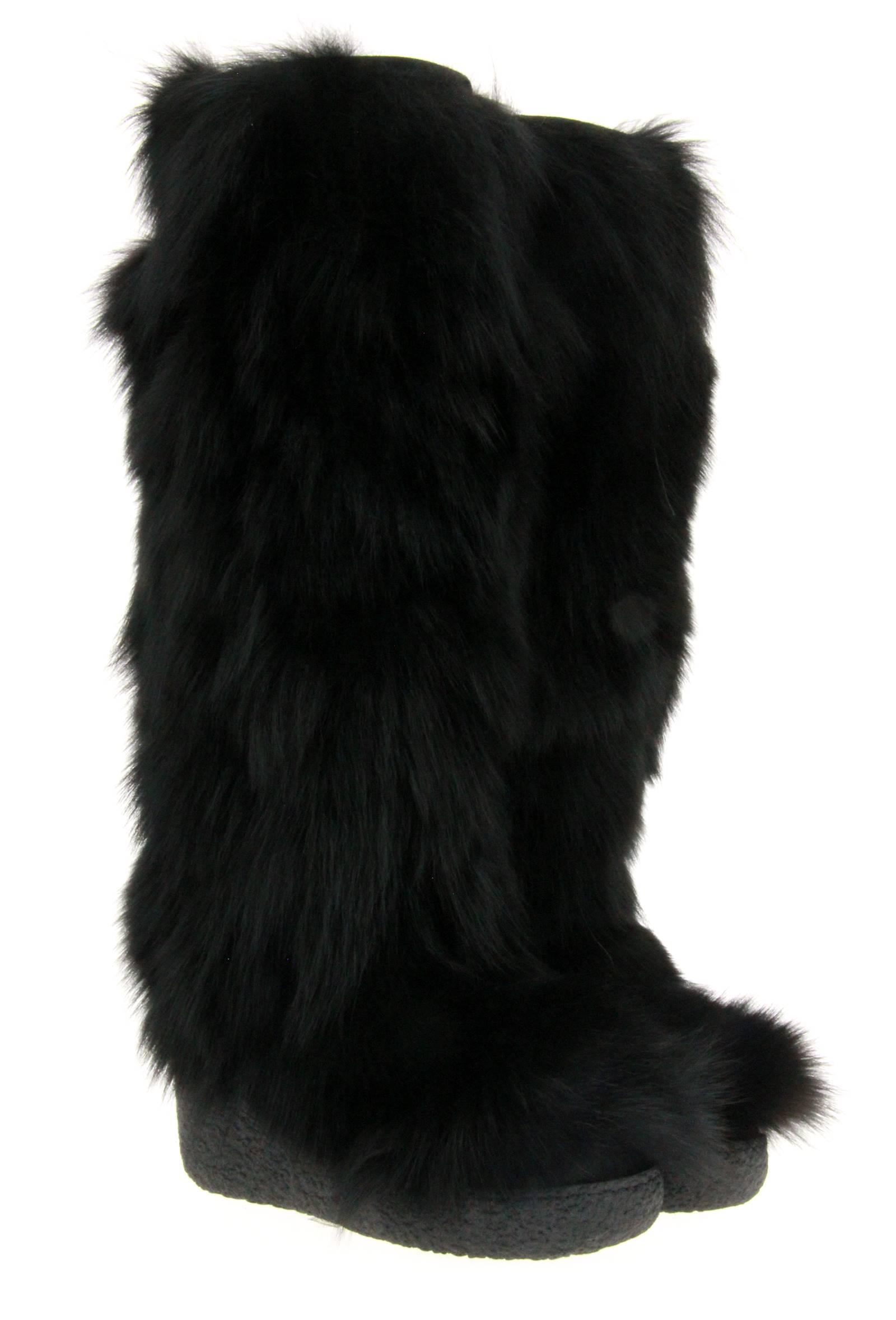 Diavolezza Fellstiefel BLACK FOX (41)