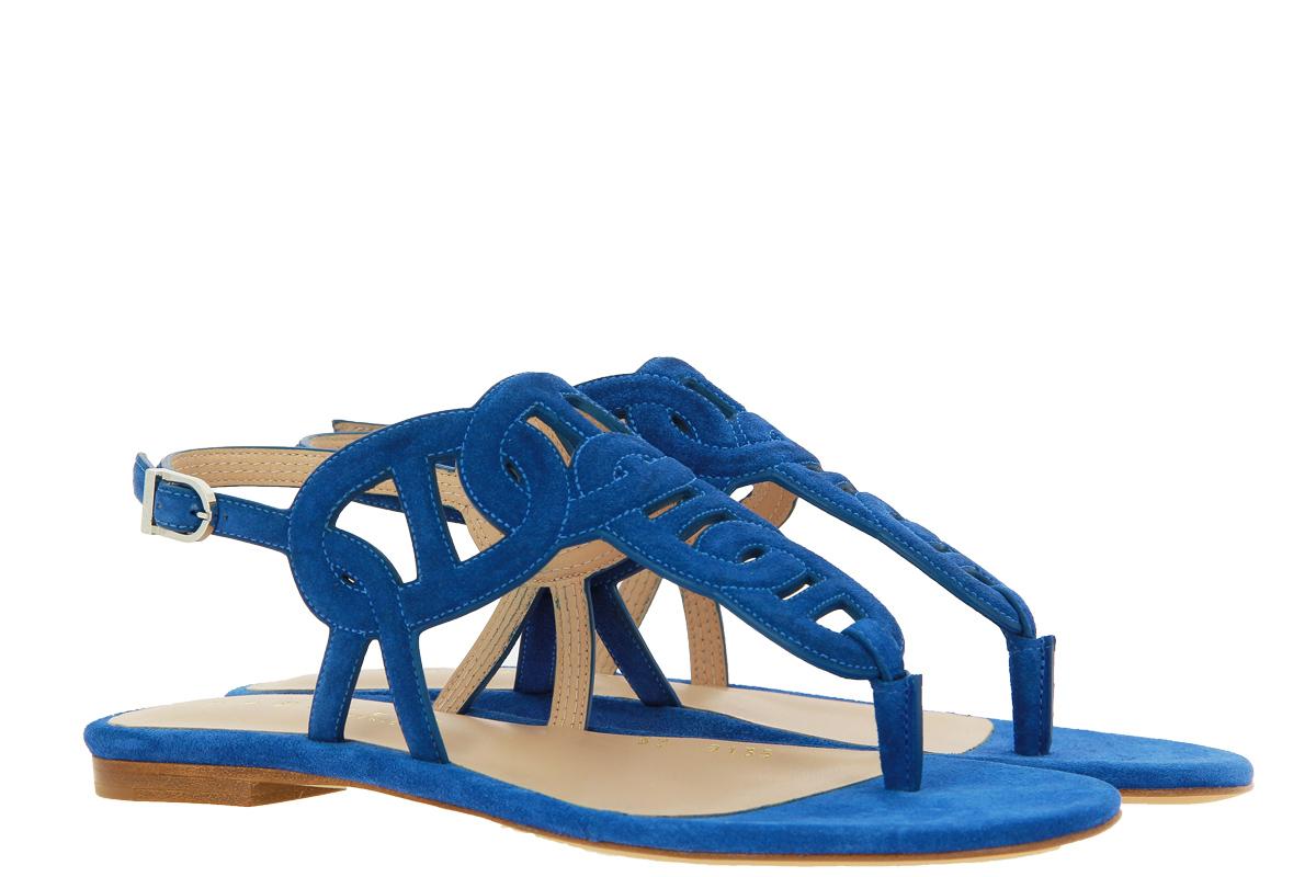 Unützer Sandale VELOURS AZURRO