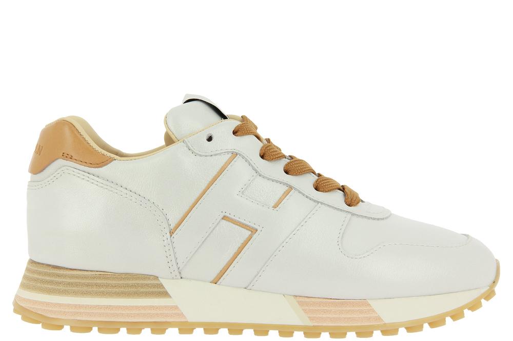 Hogan Sneaker H559 H PELLE BIANCO CAMMELLO
