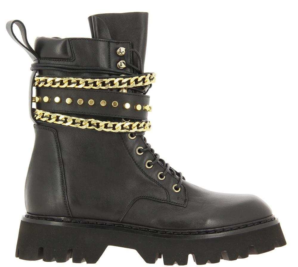 Fru.it Combat-Boots GLOVE NERO ORO