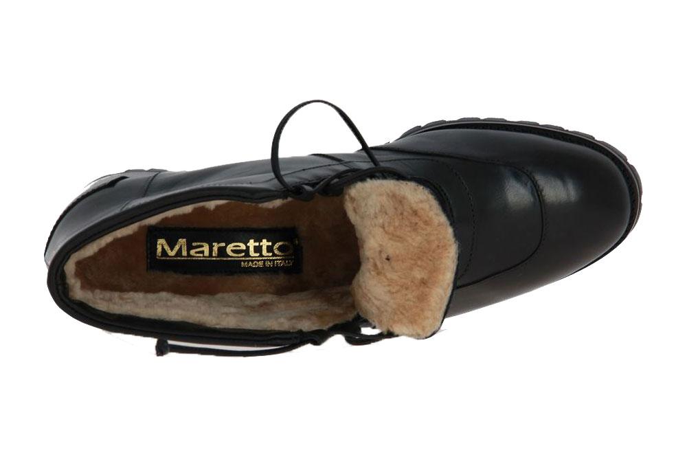 Maretto Stiefelette gefüttert CALF NERO (36)