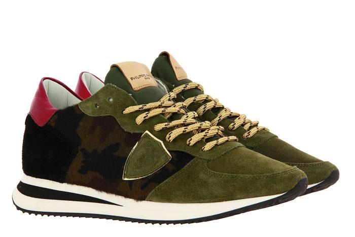 Philippe Model Sneaker TROPEZ PONY CAMOUFLAGE (37 )