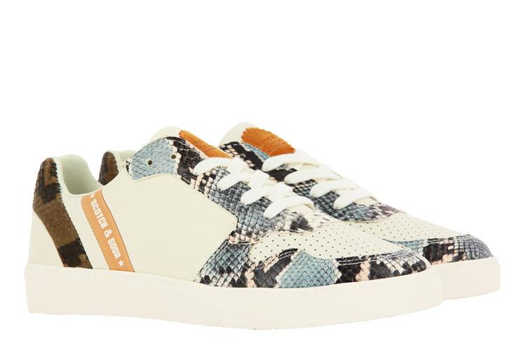 Scotch & Soda Sneaker LAURITE LEATHER CREAM SNAKE (39)