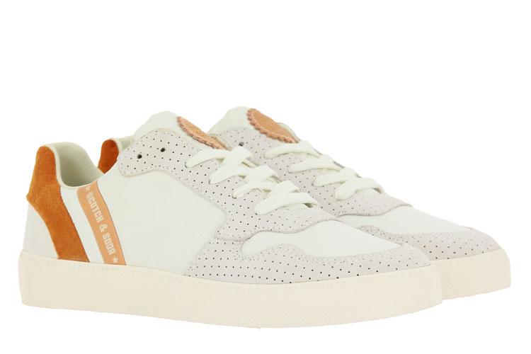 Scotch & Soda Sneaker LAURITE SUEDE LEATHER WHITE (42)