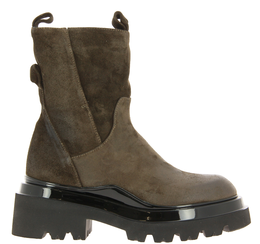 Fru.it Combat-Boots CHELIN PALUDE MORO