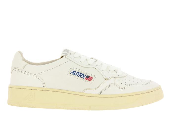 Autry Sneaker LOW MAN GOAT WHITE