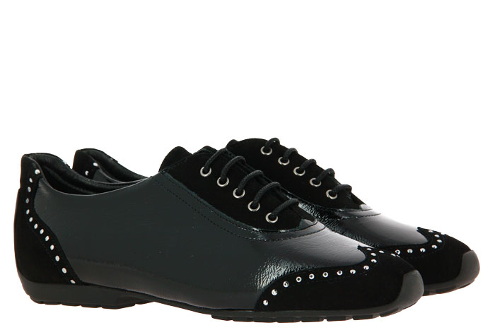 Mania Sneaker VELOUR NAPLACK BLACK (37 )