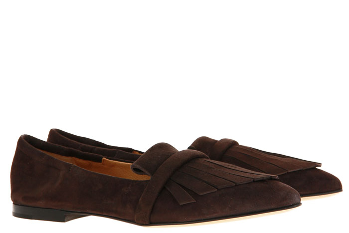 Pomme D'Or Slipper GRACE CAMOSCIO CHOCOLATE (37 )