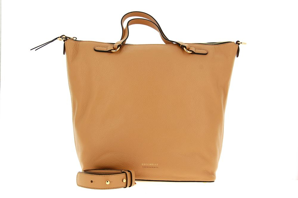 Coccinelle Shopper VITELLO CAMEL