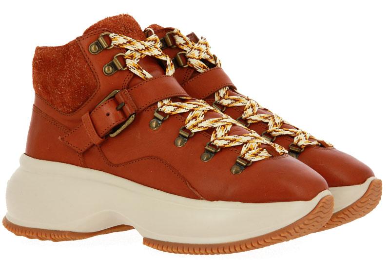 Hogan Sneaker MAXI ACTIVE TRONCHETTO CUOIO (42)