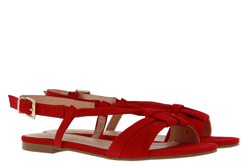 Unique Sandale LIZA NOBUCK VERMELHO (36)