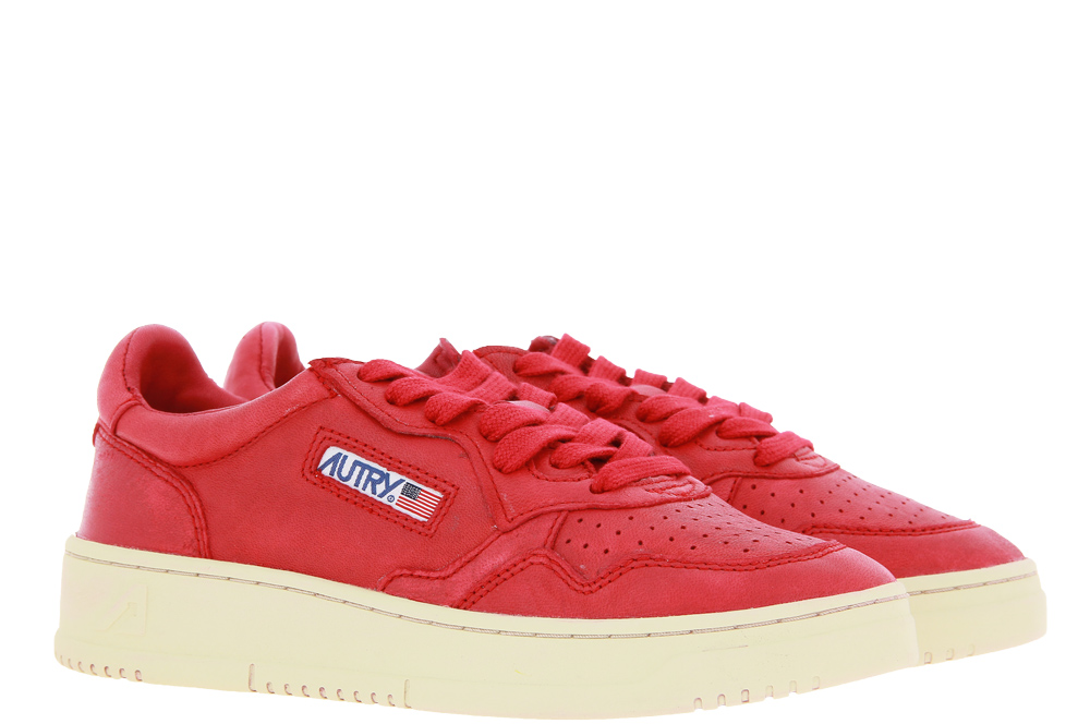 Autry Sneaker LOW WOMAN GOAT RED