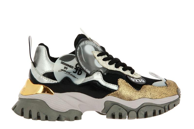 CLJD Sneaker WHITE BLACK GOLD (39)