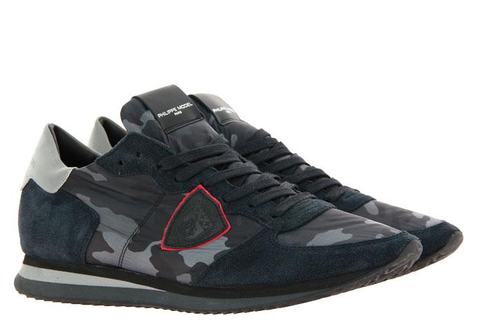 Philippe Model Sneaker TROPEZ CAMOUFLAGE NOIR (41)