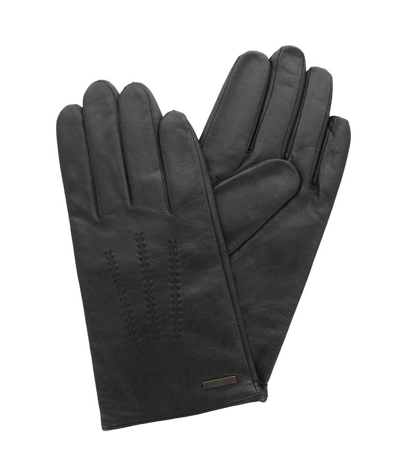 Hugo Boss Handschuhe HAINZ3 LAMMLEDER SCHWARZ (90)
