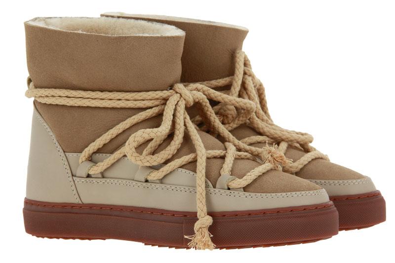INUIKII Boots gefüttert CLASSIC BEIGE (37 )