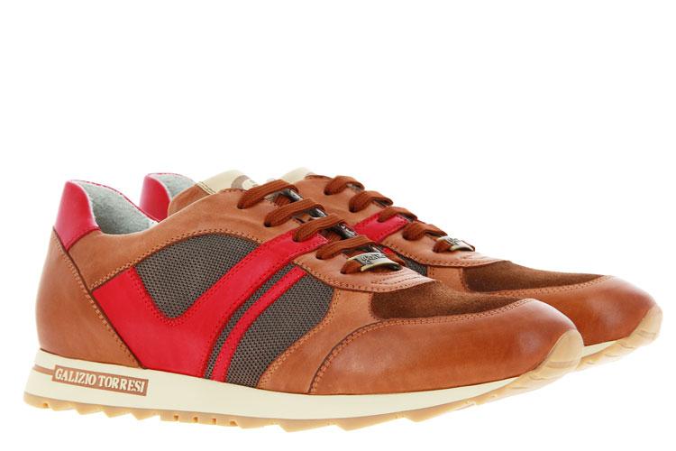 Galizio Torresi Sneaker FOULARD SETA NOCCIO  (43½)