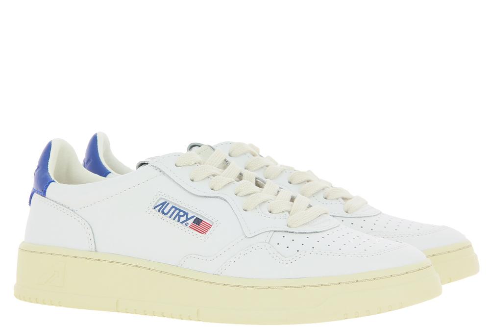 Autry Sneaker LOW MAN LEATHER WHITE DARK BLUE
