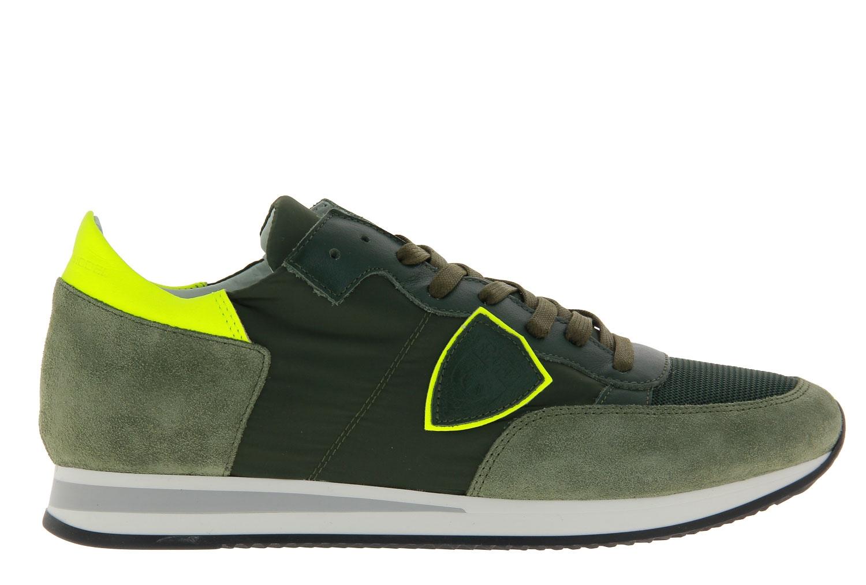 Philippe Model Sneaker TROPEZ MONDIAL FLUO VERT JAUNE