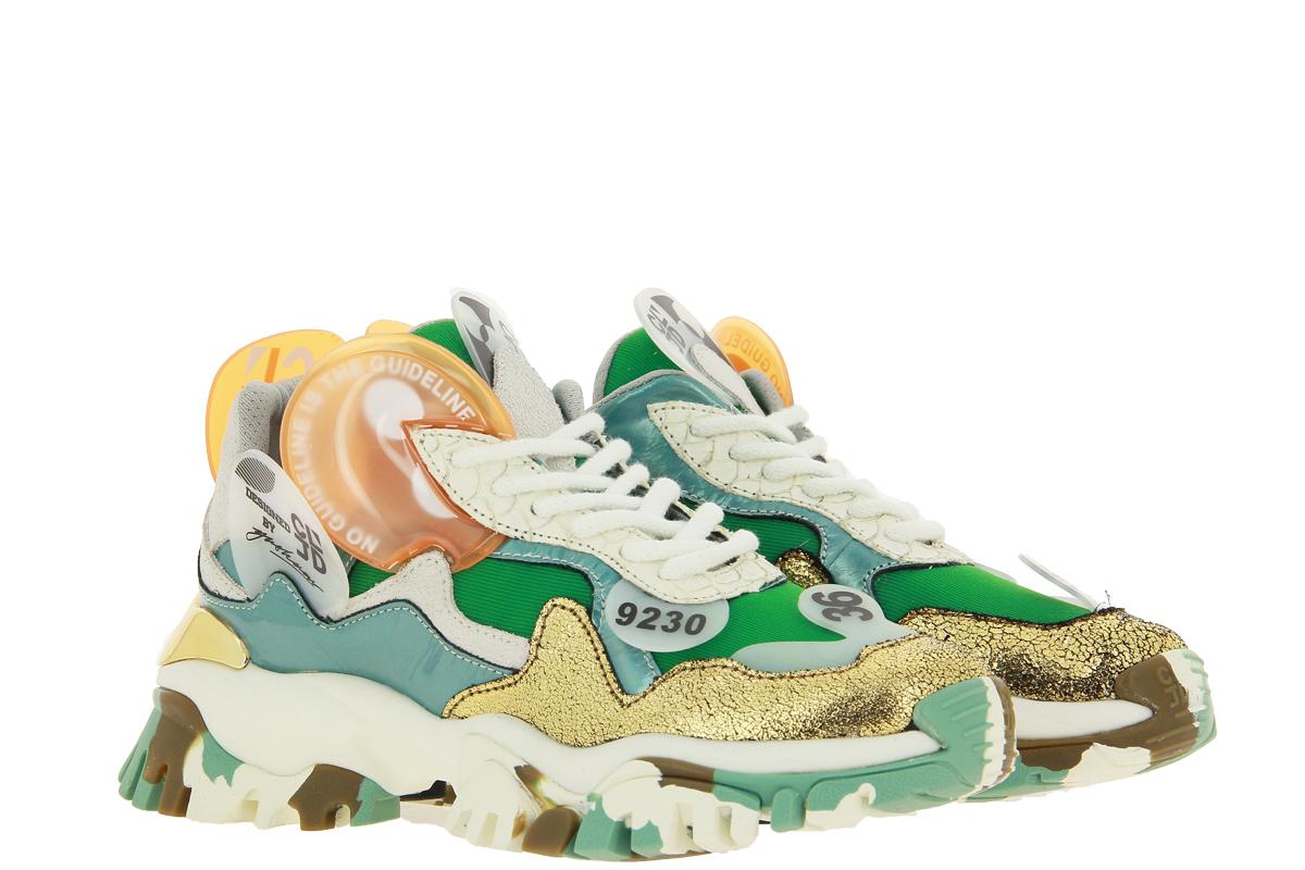 CLJD Sneaker ORANGE TOURQUOISE