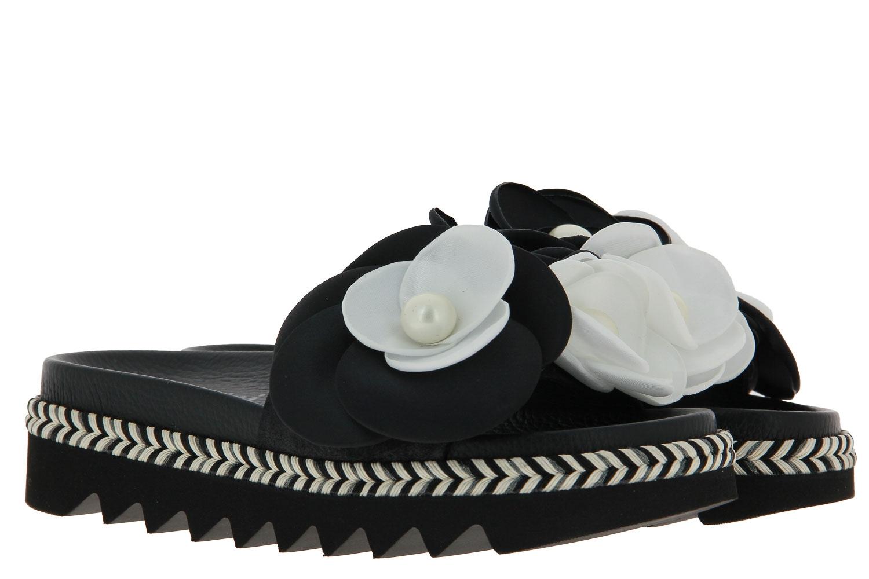 Pertini Pantolette VEGA BLACK LIMA BLACK (35)