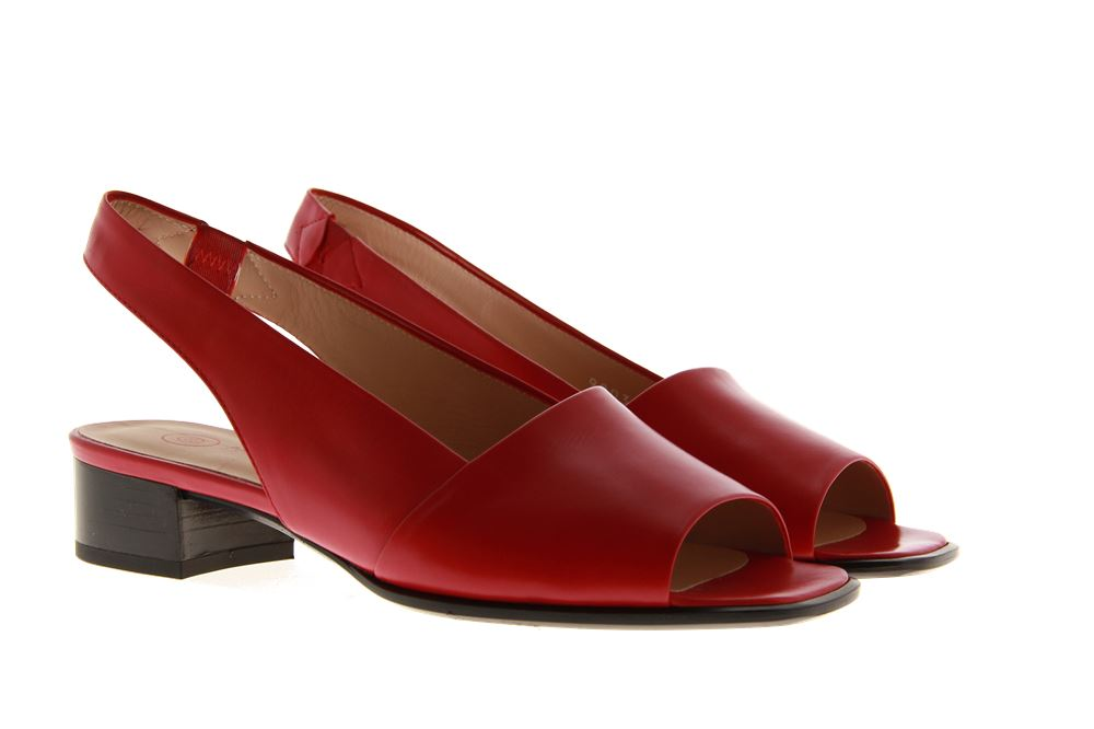 Pas de rouge Sandale SOFTY ROSSO (36½)