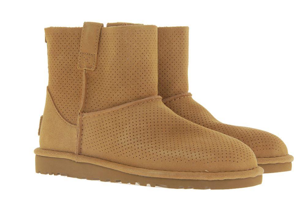 UGG Australia Boots CLASSIC UNLINED MINI PERF TAWNY (36)