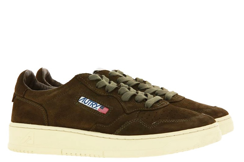 Autry Sneaker LOW MAN SUEDE MILITARY (42)