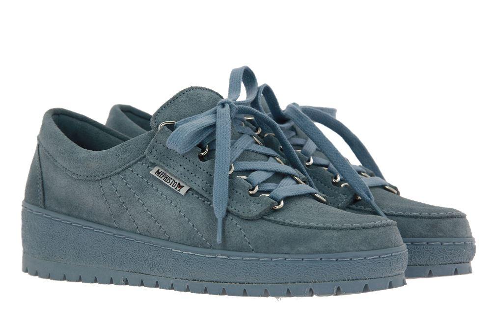 Mephisto Sneaker LADY SEA BLUE VELOUR (38½)