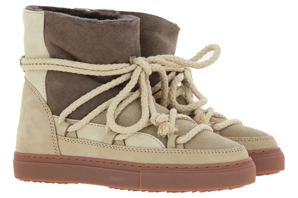 INUIKII Sneaker Boots gefüttert PATCHWORK BEIGE