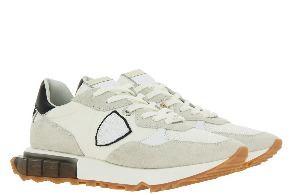 Philippe Model Sneaker LA RUE LOW MAN MONDIAL BLANC NOIR