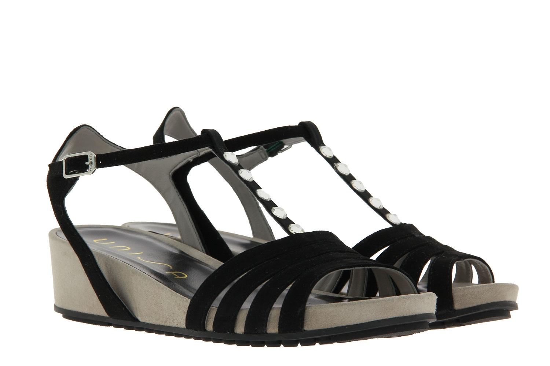 Unisa Sandale BETI SUEDE BLACK (39)